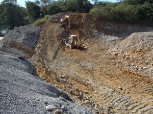 Cut Back works at Quarry in Townsville