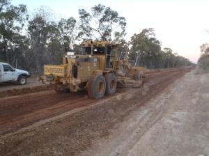 Road Repairs at Greenvale